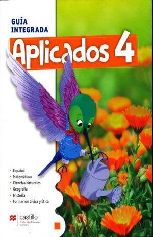 APLICADOS 4 GUIA INTEGRADA PRIMARIA