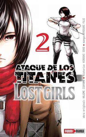 ATAQUE DE LOS TITANES. LOST GIRLS #2