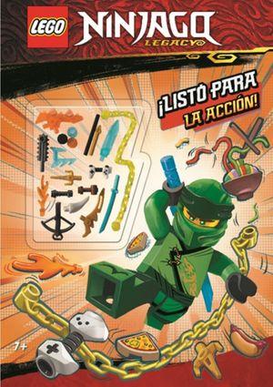 Lego Ninjago. Libro de actividades con accesorio