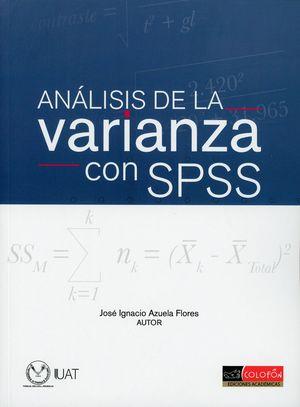 Análisis de la varianza con SPSS
