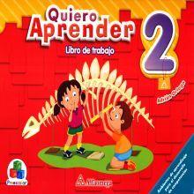QUIERO APRENDER 2. LIBRO DE TRABAJO PREESCOLAR