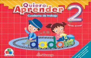 QUIERO APRENDER 2 CUADERNO DE TRABAJO. PREESCOLAR
