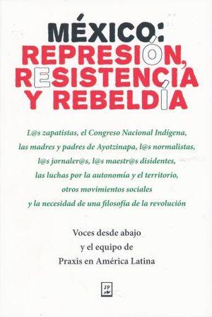 MEXICO REPRESION RESISTENCIA Y REBELDIA