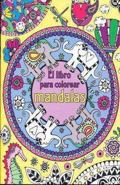 Libro Para Colorear Mandalas El Davies Hannah Libro En Papel