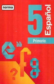 ESPAÑOL 5. PRIMARIA