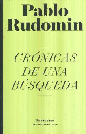 CRONICAS DE UNA BUSQUEDA