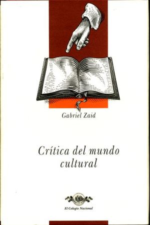 CRITICA DEL MUNDO CULTURAL (OBRAS 3) / PD.