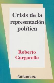 CRISIS DE LA REPRESENTACION POLITICA / ED.