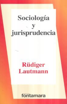 SOCIOLOGIA Y JURISPRUDENCIA / 5 ED.