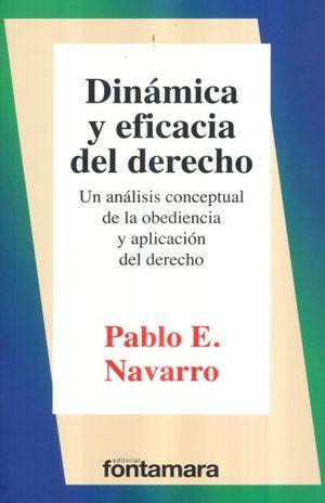 DINAMICA Y EFICACIA DEL DERECHO