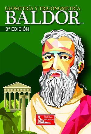 GEOMETRIA Y TRIGONOMETRIA BALDOR / 3 ED. / PD.