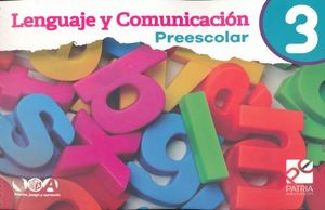 LENGUAJE Y COMUNICACION 3 PREESCOLAR