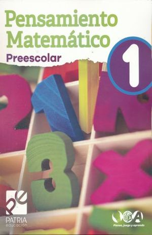 PENSAMIENTO MATEMATICO 1 PREESCOLAR