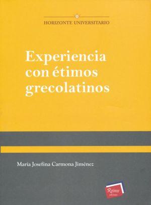 Experiencias con étimos  grecolatinos