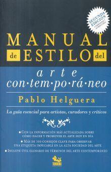 MANUAL DE ESTILO DEL ARTE CONTEMPORANEO / 2 ED.