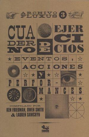 CUADERNO DE EJERCICIOS EVENTOS ACCIONES Y PERFORMANCES