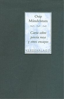 CARTA SOBRE POESIA RUSA Y OTROS ENSAYOS / PD.