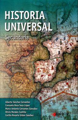 HISTORIA UNIVERSAL. SECUNDARIA