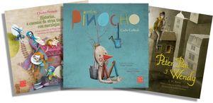 Paquete Clásicos Ilustrados. Pinocho / Peter Pan / Historias o cuentos de otros tiemos