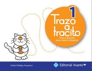 TRAZO A TRACITO 1 TRAZOS GRANDES PARA MANOS CHIQUITAS PREESCOLAR