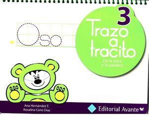 TRAZO A TRACITO 3 DE LA LETRA A LA PALABRA PREESCOLAR