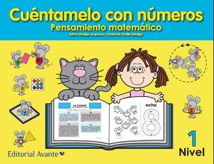CUENTAMELO CON NUMEROS PENSAMIENTO MATEMATICO NIVEL 1 PREESCOLAR