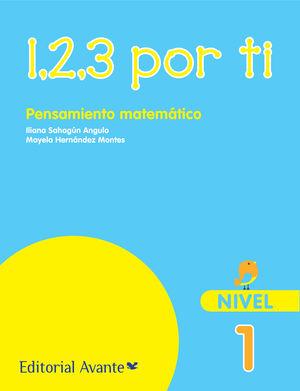 123 POR TI PENSAMIENTO MATEMATICO NIVEL 1