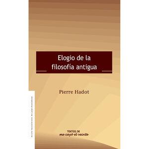 ELOGIO DE LA FILOSOFIA ANTIGUA