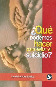 QUE PODEMOS HACER PARA EVITAR EL SUICIDIO