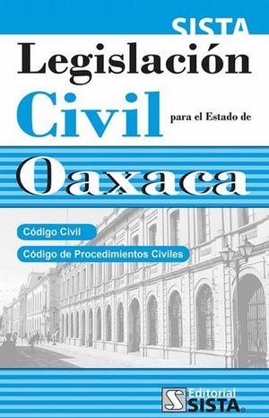 LEGISLACION CIVIL PARA EL ESTADO DE OAXACA