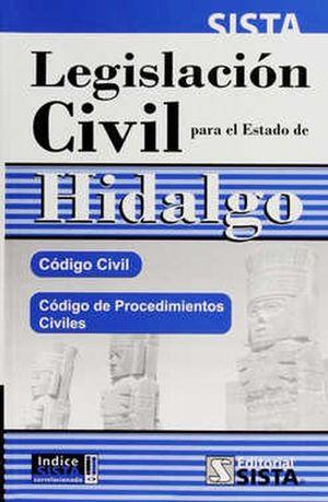 LEGISLACION CIVIL PARA ESTADO DE HIDALGO