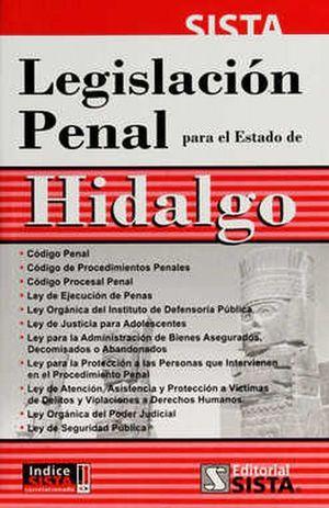 LEGISLACION PENAL PARA ESTADO DE HIDALGO