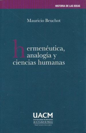 HERMENEUTICA ANALOGIA Y CIENCIAS HUMANAS