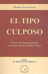 TIPO CULPOSO, EL/ EL NEXO DE DETERMINACION  Y SU RELEVANCIA JURIDICO PENAL