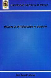 MANUAL DE INTRODUCCION AL DERECHO