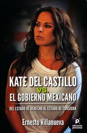 KATE DEL CASTILLO VS EL GOBIERNO MEXICANO. DEL ESTADO DE DERECHO AL ESTADO DE CONSIGNA