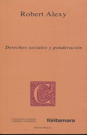 DERECHOS SOCIALES Y PONDERACION