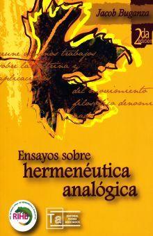 ENSAYOS SOBRE HERMENEUTICA ANALOGICA