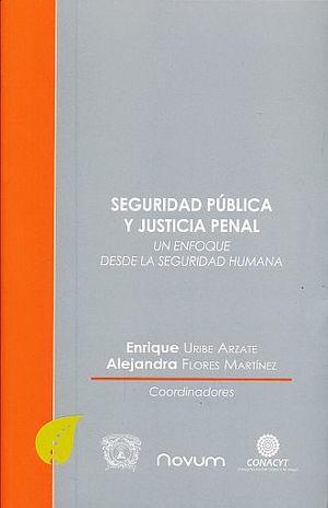 SEGURIDAD PUBLICA Y JUSTICIA PENAL