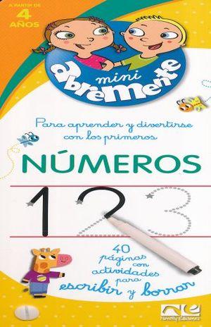 ABREMENTE MINI PARA APRENDER Y DIVERTIRSE CON LOS NUMEROS 123 (KPB-111)