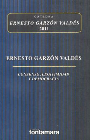 CONSENSO LEGITIMIDAD Y DEMOCRACIA
