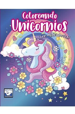 Coloreando unicornios con actividades