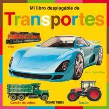 MI LIBRO DESPLEGABLE DE TRANSPORTES / PD.