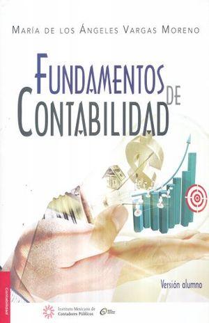 FUNDAMENTOS DE CONTABILIDAD. VERSION ALUMNO / 2 ED.