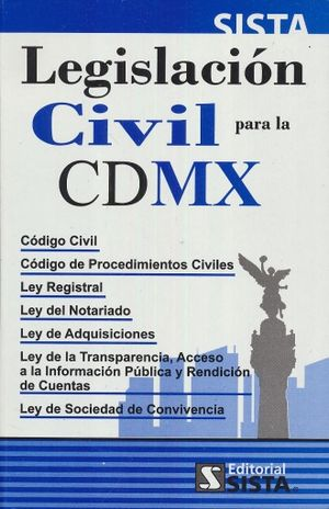 LEGISLACION CIVIL PARA LA CDMX 2018