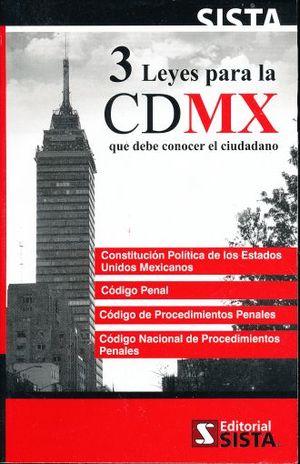 3 LEYES PARA LA CDMX  QUE DEBE CONOCER EL CIUDADANO