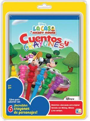 CUENTOS Y CRAYONES MICKEY (KNO-152)