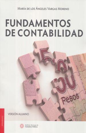 FUNDAMENTOS DE CONTABILIDAD (ALUMNO) / 3 ED.