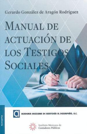 MANUAL DE ACTUACION DE LOS TESTIGOS SOCIALES