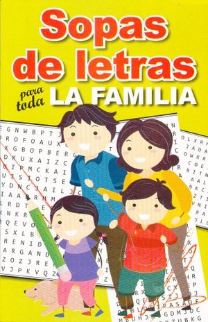 SOPA DE LETRAS PARA TODA LA FAMILIA